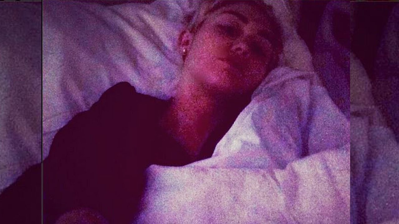 Miley Cyrus keeps Instagramming health updates from her hospital bed