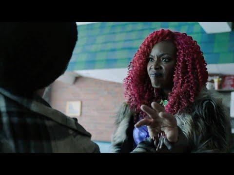 DC Titans S01E03 | 'Starfire kick asses in Restaurant' scene