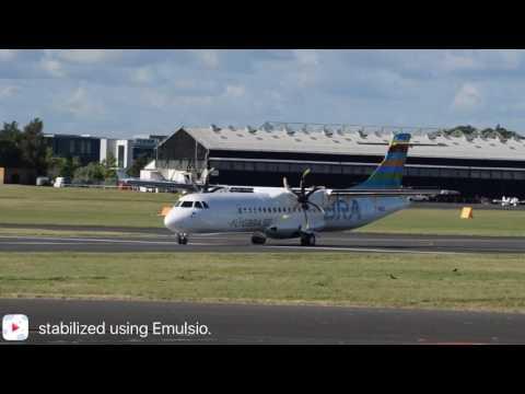 Braathens Regional Airways Departing Farnborough Airport