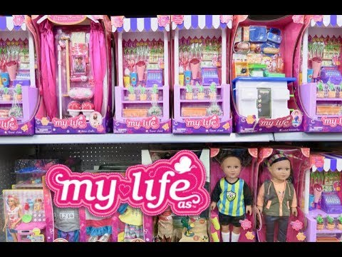My Life Doll Clothes Section At Walmart ~ Perfect For American Girl