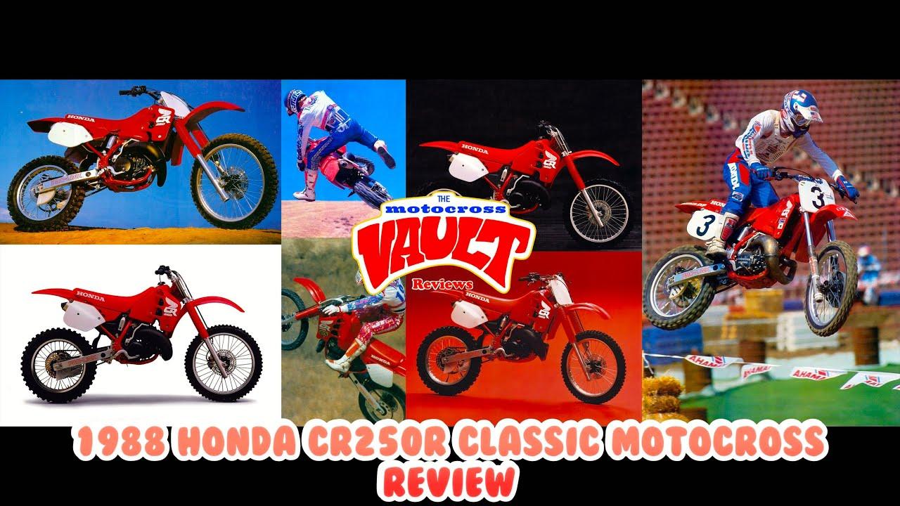 1988 Honda CR250R Classic Motocross Review