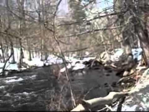 Mianus River after rainstorm