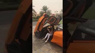 على غرار محمد رمضان.. جومانا مراد تستعرض سياراتها الفارهة بلندن