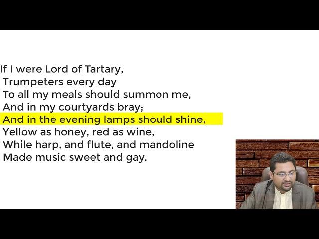 Tartary 2 in Urdu Hindi by Walter de La Mare