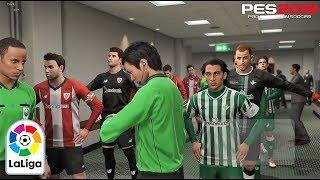 PES 2019 | La Liga | Real Betis vs Athletic De Bilbao | Gameplay PS4