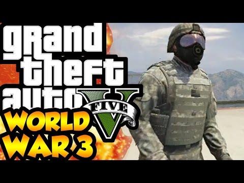 GTA 5 Lính Đánh Thuê  vs COP #1 Cuộc Chiến Không cân Sức !!!
