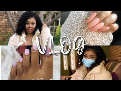 VLOG | spa/nail date , spoils, PR package, facial oils... |SOUTH AFRICAN YOUTUBER