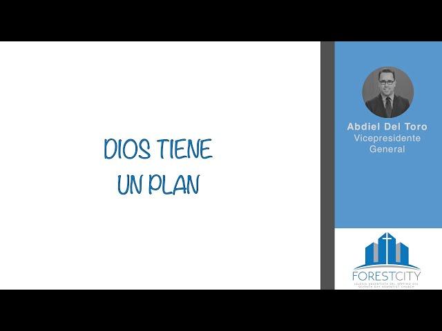 01/12/2019 Dios  Tiene Un Plan