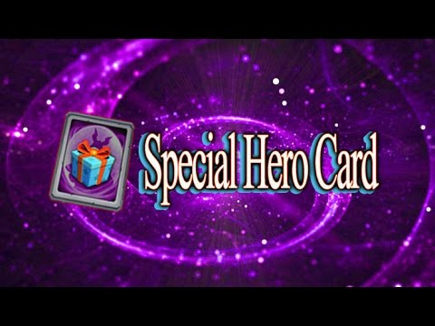 Castle Clash-Opening A Special Hero Card And Rolling A Few Gems