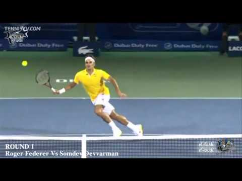 [RFTV 2.0] Roger Federer Vs Somdev Devvarman- Dubai Duty Free Tennis Championship (Round 1)