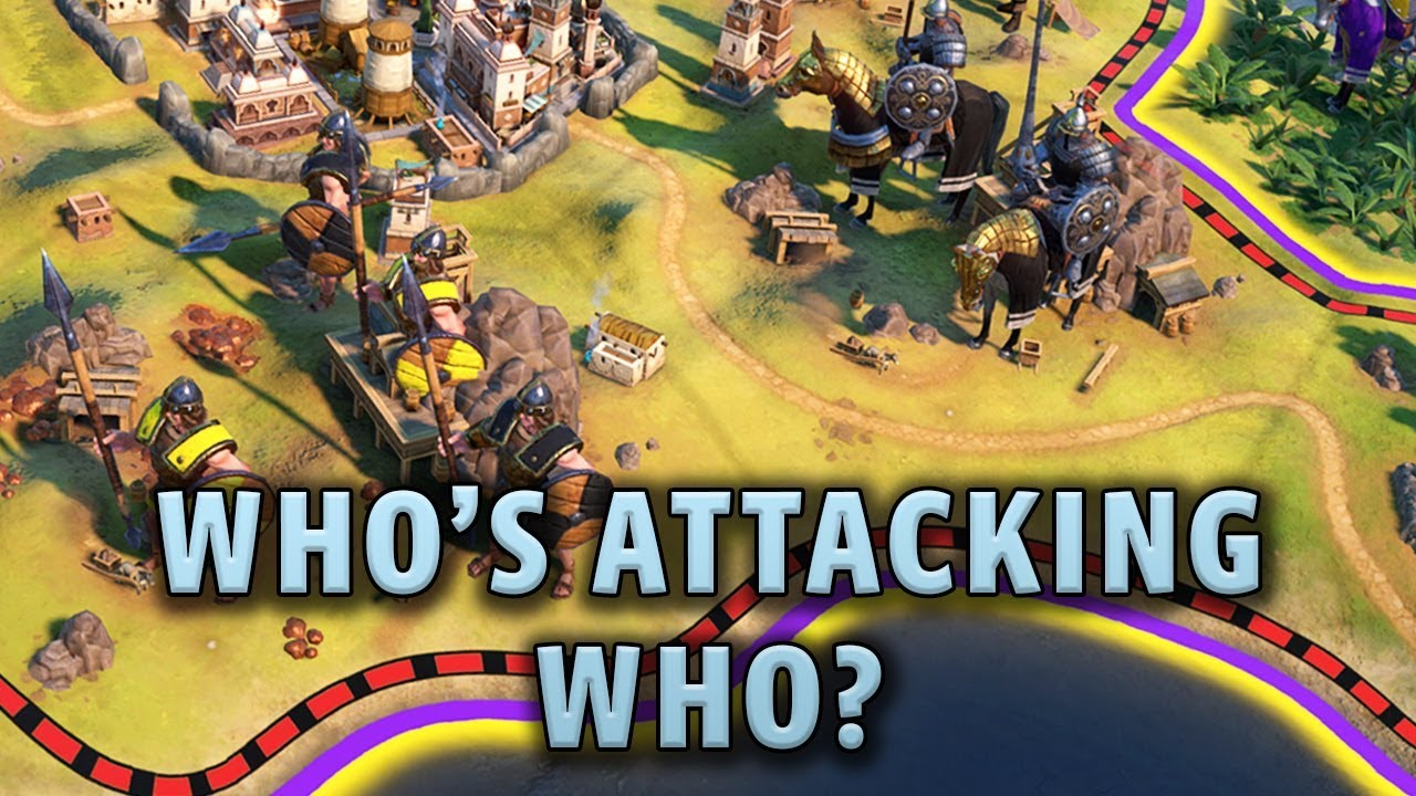 Who's Actually Attacking Who Here? - Civilization 6 Gathering Storm Deity  Part 9