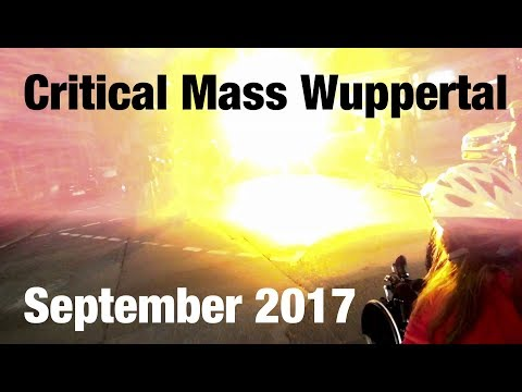 Critical Mass Wuppertal - September 2017