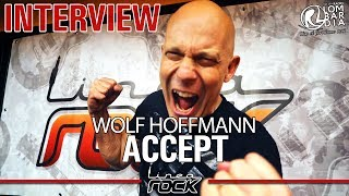 ACCEPT - Wolf Hoffmann interview @Linea Rock 2017 by Barbara Caserta