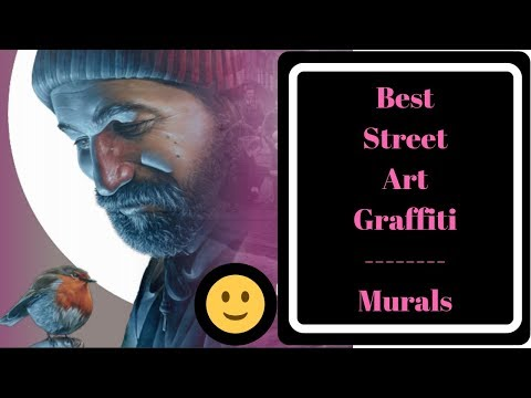 Best street art graffiti - Glasgow Murals