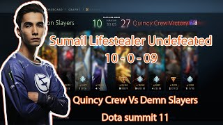 Sumail Lifestealer Undefeated - Quincy crew vs Demon Slayers
