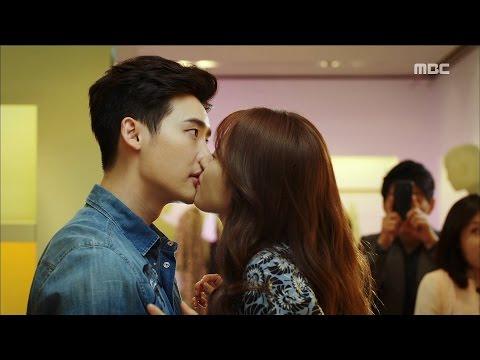 [W] ep.02 Han Hyo-joo kissed Lee Jong-suk! 20160721