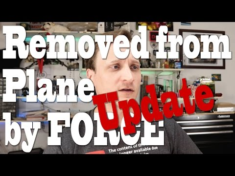 Update on United Flight 3411: Man removed by Force - Statement by Chicago Aviation Police?