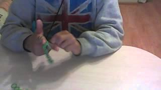 Браслеты из резинок / Видео Урок 1 / Французская коса