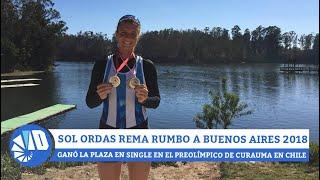 Buenos Aires 2018 - Sol Ordas, olímpica de nacimiento