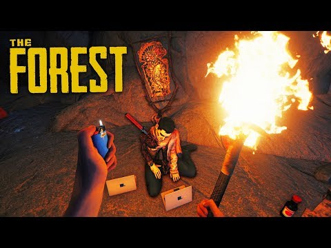 FINDING NEW WEAPONS!! (The Forest)
