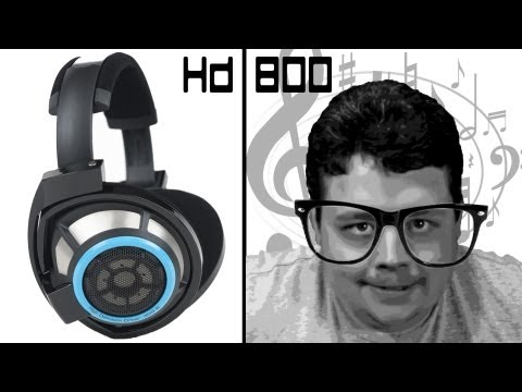 Sennheiser HD 800 Unboxing, Review & Shootout w/ HiFiMAN HE-500 Headphones (Music + BF4)