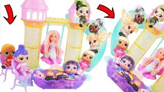 BARBIE MERMAID! LOL Surprise Doll New Chelsea Pool Bedroom in Bubbly Toy Video Unboxed! Blind Bags