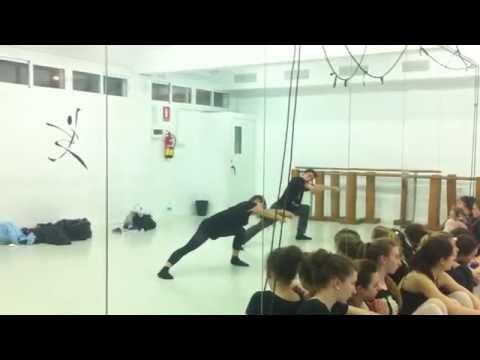contemporary choreograhpy (safe with me- sam smith) Dancer: Rafa soto & Ruth diez