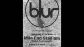 Blur - Tracy Jacks (Live at Mile End Stadium, London)