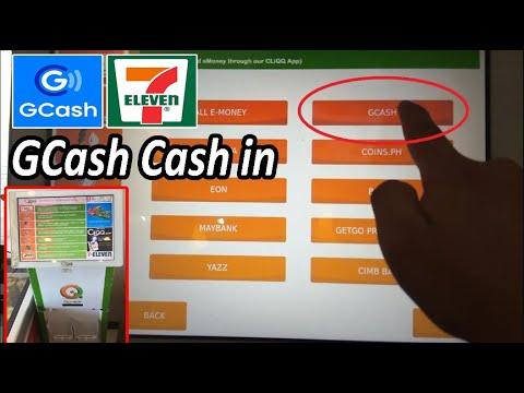 GCASH Cash in 711 ll How to Cash in GCASH at 7 Eleven ll Paano mag Cash in ng Gcash  sa 7/11
