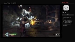 God of war 4 livestream