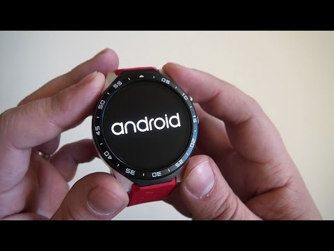 KingWear KW88 : smartwatch chinoise android oled