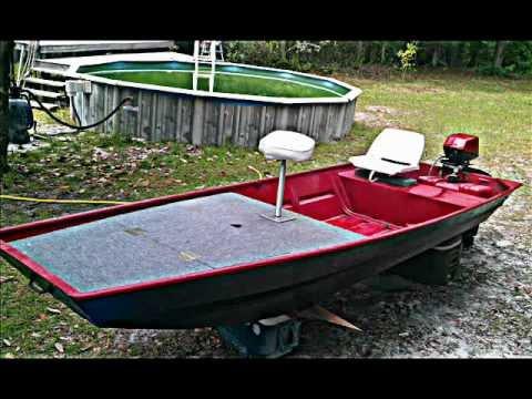 14ft Jon Boat Modification YouTube