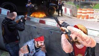 GTA 4 - Байкеры против полиции
