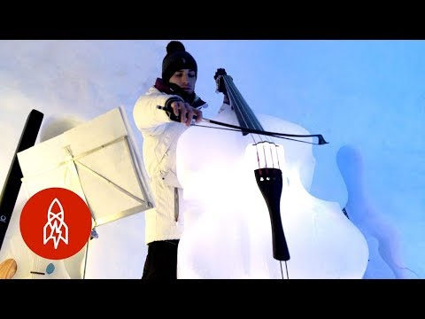 Frank Bell - Orchestra with Instruments Made of Ice