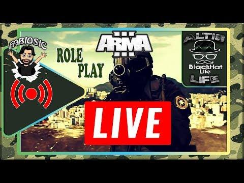 🔴ARMA 3 | LIVE | VIDA DE PM SOLDADO | ROLE-PLAY | BLACKHAT-LIFE