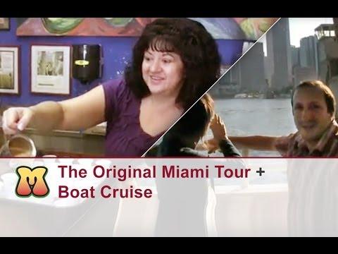 The Original Miami Tour + Boat Cruise