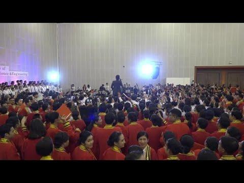 ตูน - Bodyslam แขกรับเชิญพิเศษเซอไพรส์บัณฑิตใหม่ พิธีพระราชทานปริญญาบัตรประจำปีการศึกษา 2561 สจล.