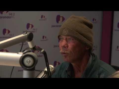 Rian interviews Homeless Man - Gideon van de Heever