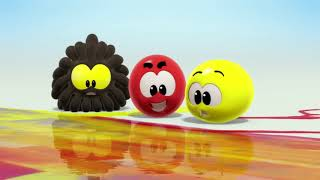 Wonderballs Cartoons   Colors and Paint   Color Crew   Learning Videos For Babies   Cartoon for Kids