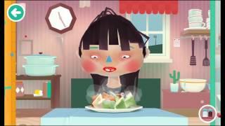 ГОТОВКА ЧЕЛЛЕНДЖ #1 смешная веселая развлекательная игра видео для детей готовим еду