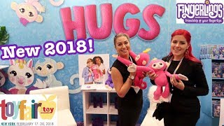 New Fingerlings Toy of the Year 2018 Toy Fair