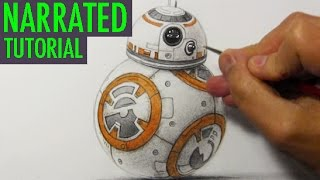 """How to Draw BB-8 from """"STAR WARS: The Force Awakens"""""""