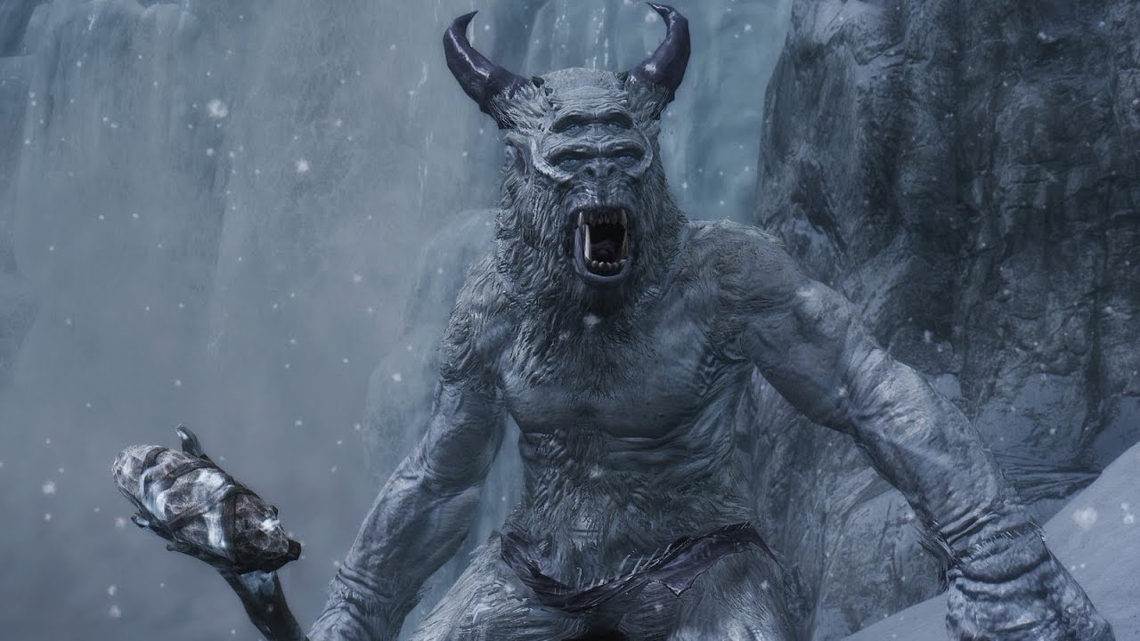 Image result for frost giant skyrim