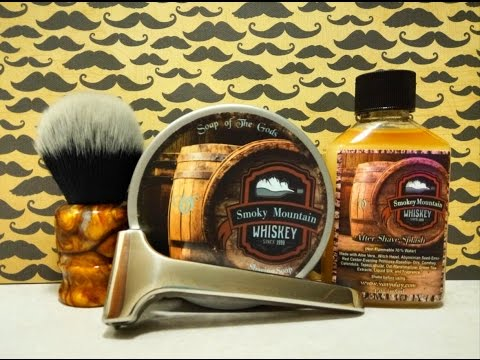 Supply Limited Edition SE, Van Yulay Smokey Mountain Whiskey soap and aftershave