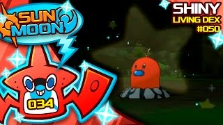 WHAT THE ???? SHINY ALOLAN DIGLETT!! Quest For Shiny Living Dex #050 | Sun Moon Shiny #34