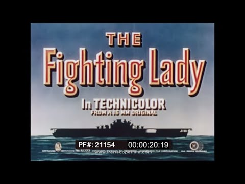 THE FIGHTING LADY*RESTORED VERSION*USS YORKTOWN IN WWII EDWARD STEICHEN 21154