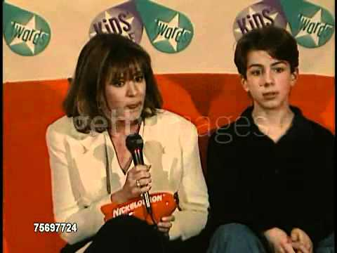 Taran Noah Smith & Patricia Richardson  at the kids choice awards
