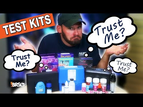 Can You Trust Your Saltwater Test Kit OR Your Testing Skills On Your Reef Tank? | BRStv Investigates