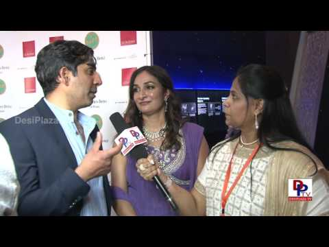 Director Ravi Kapoor of the movie Ms.India America speaking to Desiplaza TV at SAFF