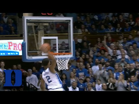 Duke's Cassius Stanley Throws Down 2 Incredible Dunks